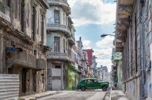 A Vintage Car In Havana - Photo by Eva Blue