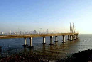 Rajiv Gandhi Sea Link, Mumbai, India