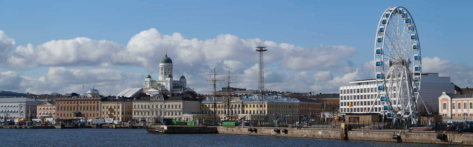 Panorama of Helsinki